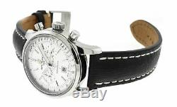 Breitling Transocean Chronograph 38 Men's Leather Strap Watch A41310