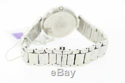 Ladies Citizen EM0100-55A Stainless Steel Diamond White Roman Numeral Dial Watch