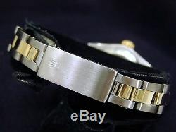Lady Rolex 2Tone 14K Gold/Stainless Steel Oyster Perpetual withDiamond Dial/Bezel