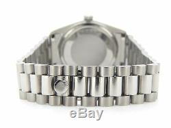 Rolex Datejust Stainless Steel with President Band & Submariner Blue Diamond Dial