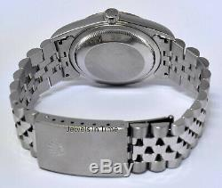 Rolex Mens Datejust Stainless Steel Silver Dial Automatic Watch F 16234